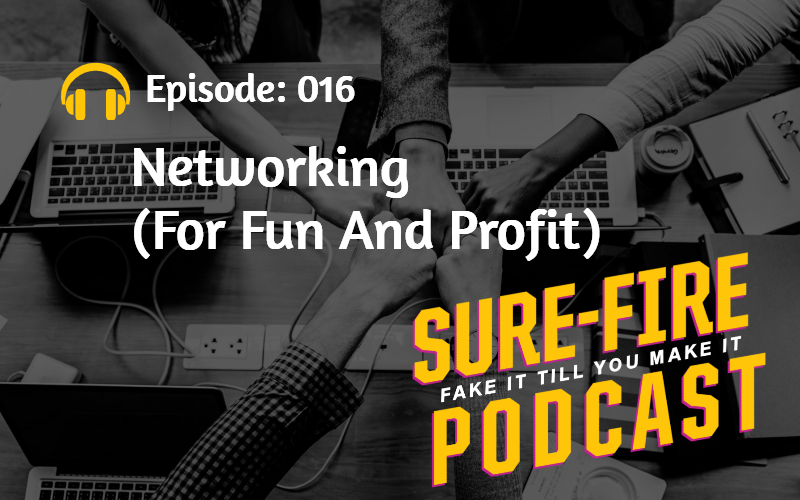 Episode 016: Networking (For Fun And Profit)